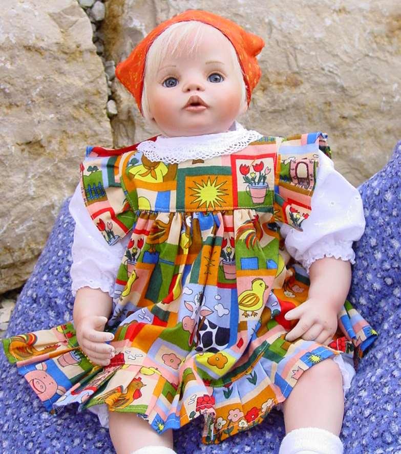 more photos 08da6 b163e Puppenmode Grimm - Ausgehkleid